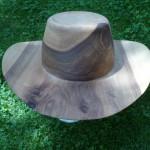 Hut aus Walnusholz